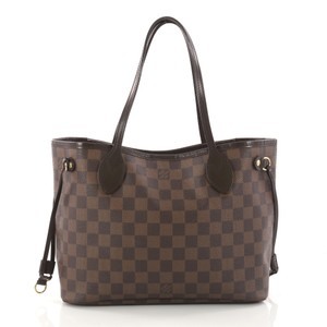 Louis Vuitton Neverfull Canvas Tote in Ebene