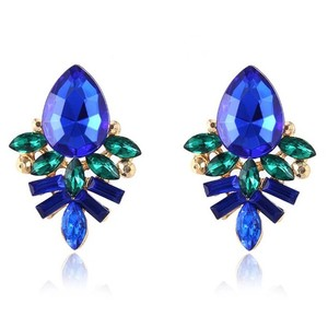 Kate Spade Crystal Cluster Stud Earrings