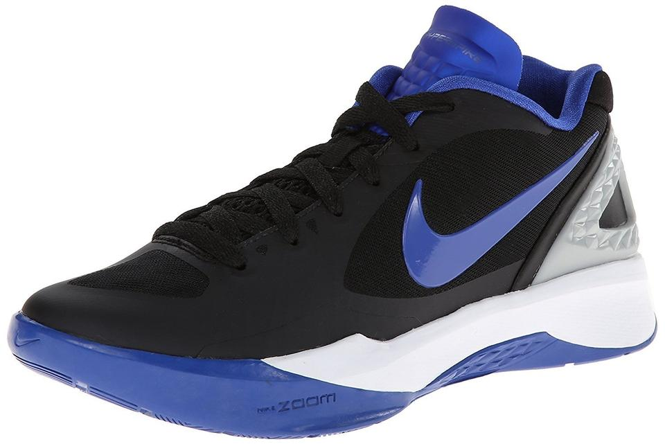 9d3662ff272d Nike Black Royal Silver White Women s Volley Zoom Hyperspike Volleyball  Sneakers