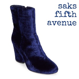 Saks Fifth Avenue Blue Boots