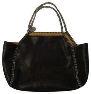 Stella McCartney Tote in black and silver
