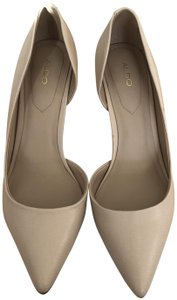 ALDO Interview Nude D'orsay Blush Pink Pumps