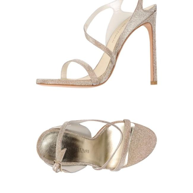 Item - Gold Glitter Sensual Dark Glitterati. Spring-summer 2017 Sandals Size US 6.5 Regular (M, B)