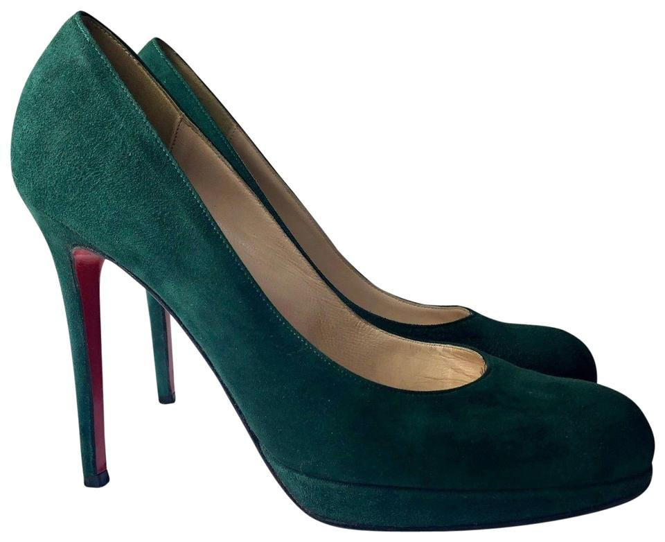 competitive price 9418f a2dbc Christian Louboutin Green New Simple 120 Suede Dark Heels Pumps Size EU 40  (Approx. US 10) Regular (M, B) 59% off retail