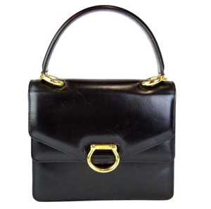 Celine Satchel in Black