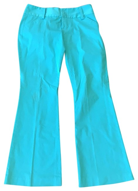 Item - Teal Or White Pants Size 6 (S, 28)