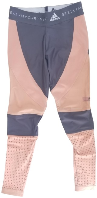 Item - Grey and Salmon Run Tight Activewear Bottoms Size 4 (S)