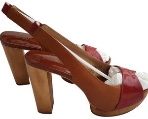 MICHAEL Michael Kors Worn once. Some discolor in insole; see pictures, otherwise exterior and soles are excellent conditon Platforms