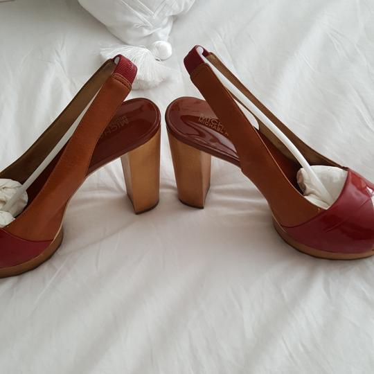 MICHAEL Michael Kors Worn once. Some discolor in insole; see pictures, otherwise exterior and soles are excellent conditon Platforms Image 3