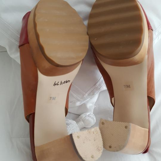 MICHAEL Michael Kors Worn once. Some discolor in insole; see pictures, otherwise exterior and soles are excellent conditon Platforms Image 7