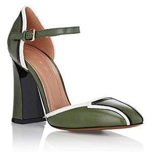 Marni dark green Pumps