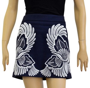 Stella McCartney Mini Skirt Blue/White