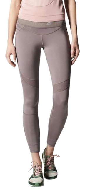 adidas By Stella McCartney Taupe Zip Ankle Activewear Bottoms Size 8 (M, 29, 30) adidas By Stella McCartney Taupe Zip Ankle Activewear Bottoms Size 8 (M, 29, 30) Image 1