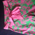 Lilly Pulitzer Wide Leg Pants Green pink Image 2