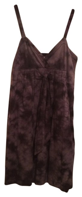 Kensie short dress black grey tye dye on Tradesy