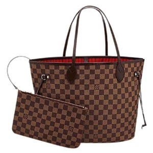 Louis Vuitton Monogram Leather Luxury European Limited Edition Tote in brown