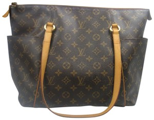 Louis Vuitton Totally Mm Monogram Tote Shoulder Bag