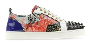 Christian Louboutin Sneaker Spiked Studded Louis Junior Multicolor Athletic