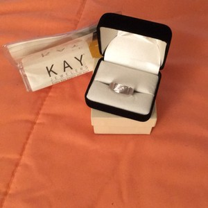 Kay Jewelers White Gold Men's Wedding Band