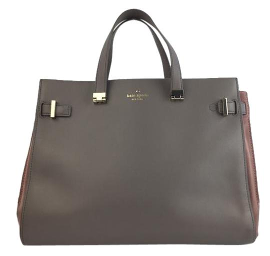 Preload https://item1.tradesy.com/images/kate-spade-parker-street-aisley-beige-leather-and-suede-tote-2350465-0-2.jpg?width=440&height=440