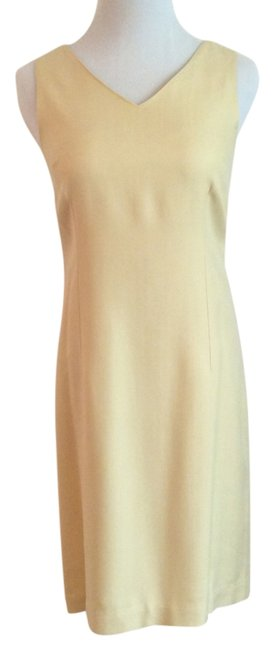 Tommy Bahama short dress Pale Yellow on Tradesy Image 0