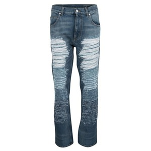 Alexander McQueen Capri/Cropped Denim-Light Wash
