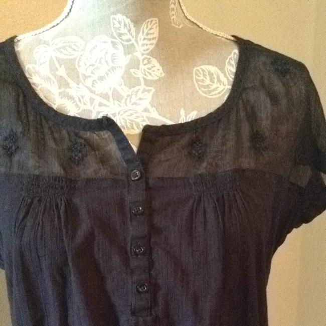 American Eagle Outfitters Top Black