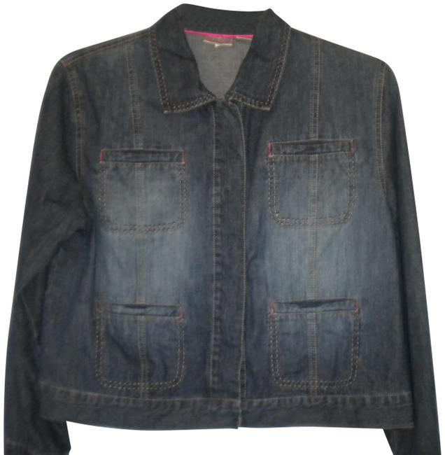 Item - Blue Women (Us Large) Jacket Size 14 (L)