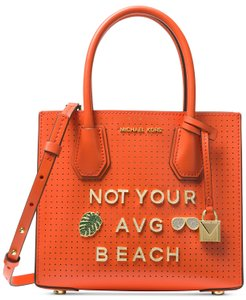 Michael Kors Mercer Small Mercer Sale Small Mercer Tote in Orange