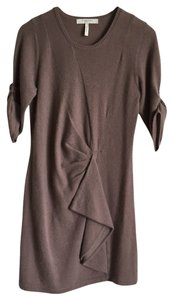 BCBGMAXAZRIA short dress Taupe on Tradesy