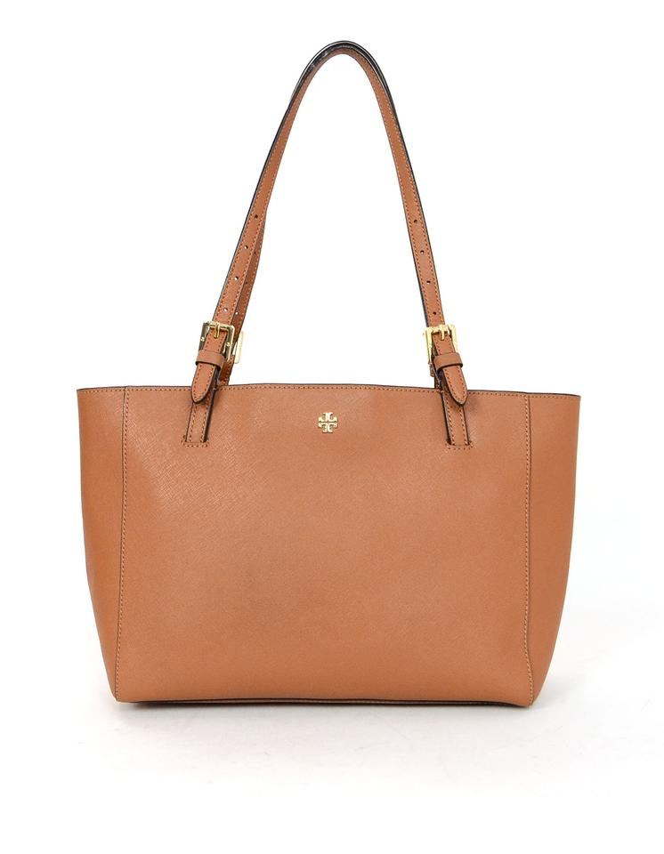 39bdb83d55f Tory Burch Saffiano Small York Tan Leather Tote - Tradesy