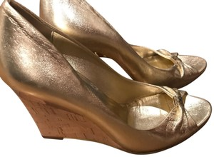 Gucci Platino (Gold) Wedges