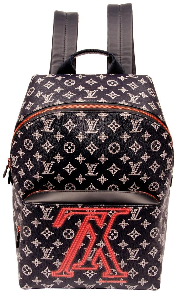 f5263bb489af Louis Vuitton Monogram Canvas Limited Edition Weekend Travel Bags Leather  Backpack Image 0 ...