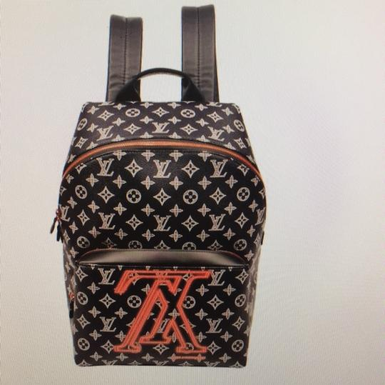 Louis Vuitton Monogram Canvas Limited Edition Weekend Travel Bags Leather Backpack Image 11