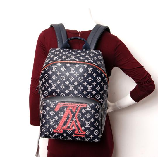 Louis Vuitton Monogram Canvas Limited Edition Weekend Travel Bags Leather Backpack Image 5