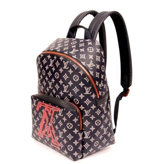 230a9a83cae7 Louis Vuitton Monogram Canvas Limited Edition Weekend Travel Bags Leather  Backpack Image 9