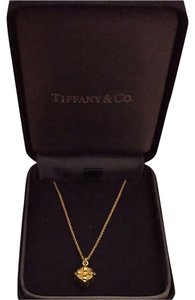 Tiffany & Co. Tiffany & Co. 18k Gold Tiffany Gift Box Necklace