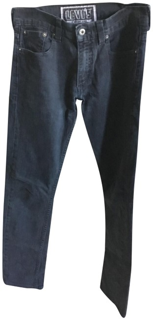 Item - Black Dark Rinse Straight Leg Jeans Size 32 (8, M)