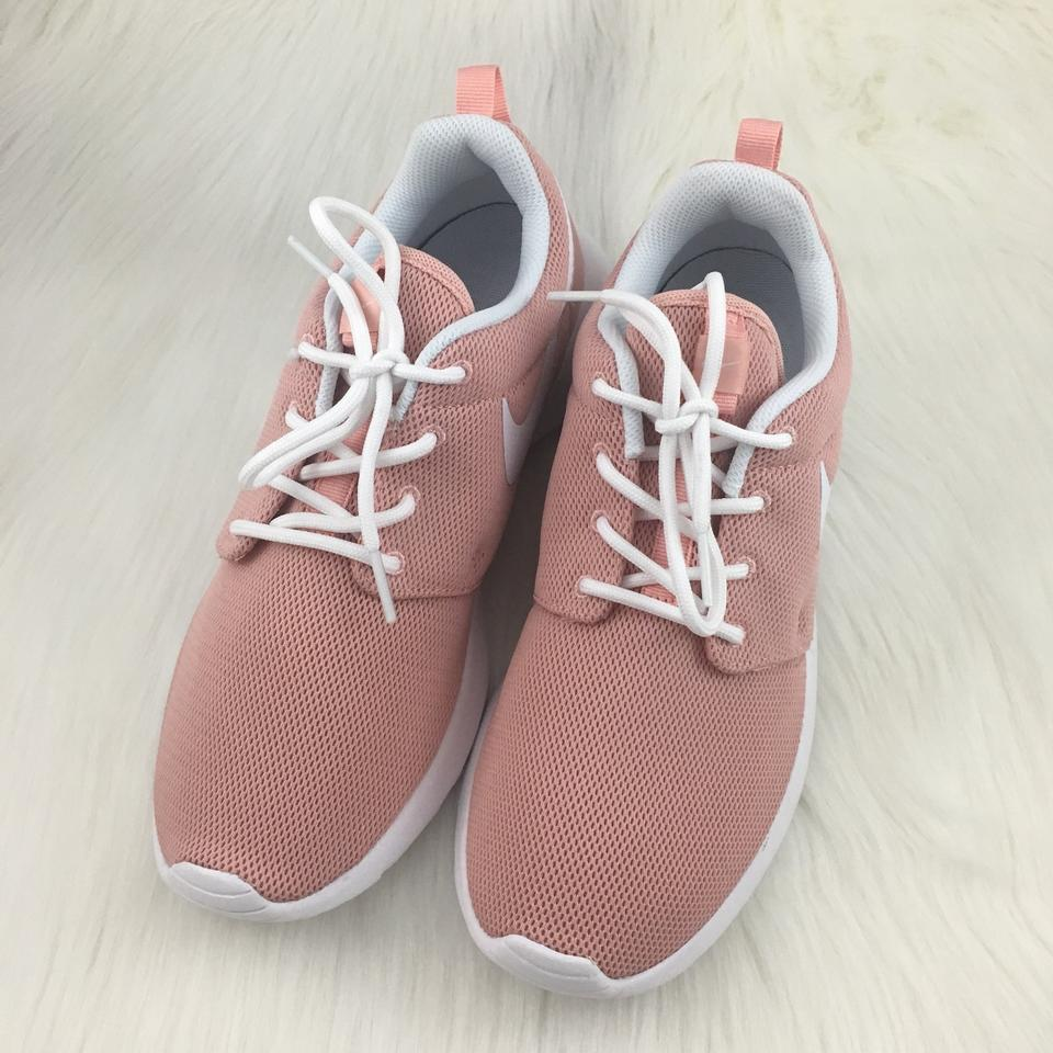 hot sales 6f4a8 e801d Nike Women s Roshe One Coral Stardust Running Sneakers. Mesh Upper ...