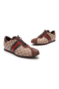 Gucci Brown, red, green Athletic