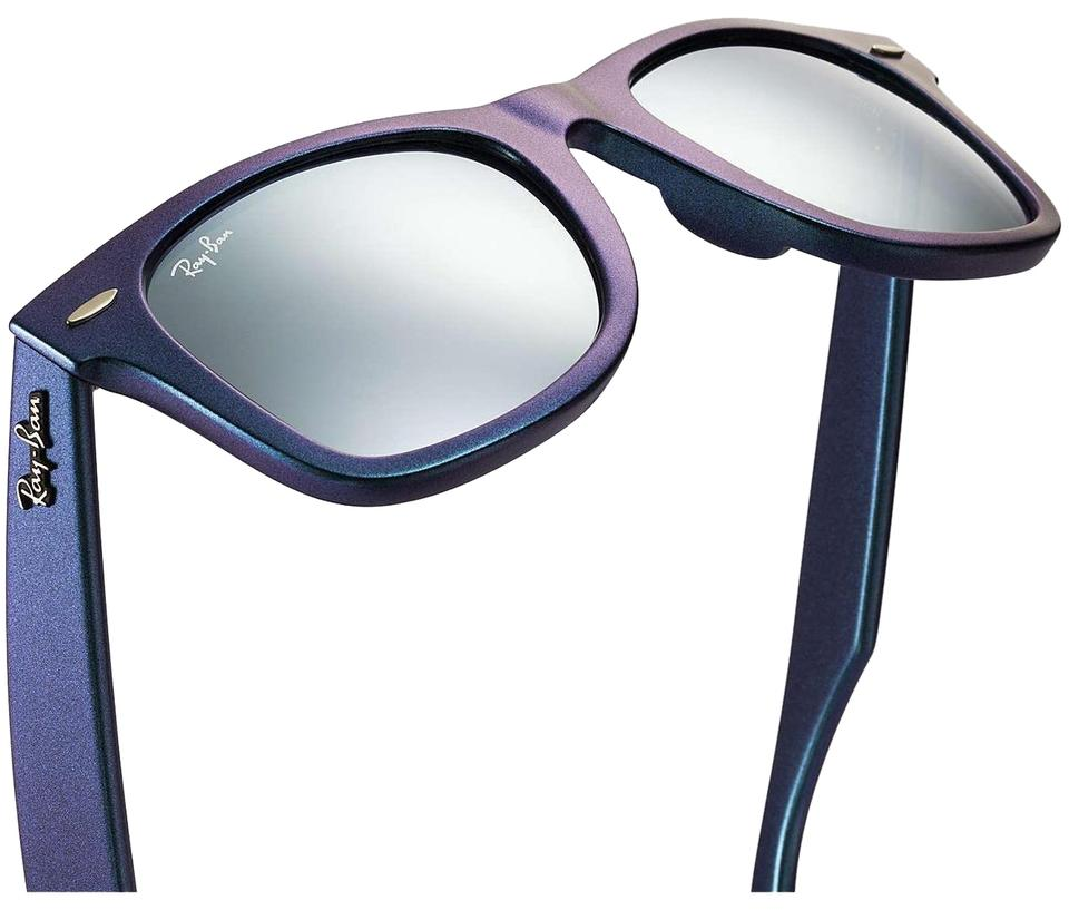 116bef1f4b785 Ray-Ban New Blue Azure   Purple Iridescent Hologram Mercury Wayfarer  Classic Cosmos Collection Rb2140 Sunglasses