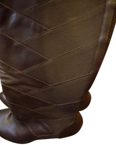 55d87a35699 Guess Brown Rushed with High Stacked Heel. Boots Booties Size US 9.5 ...