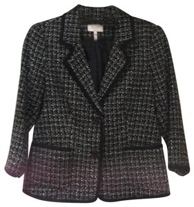 Laundry by Shelli Segal black and white Blazer