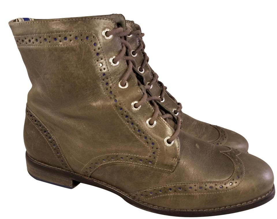 MISS Top-sider Sperry Taupe Top-sider MISS Boots/Booties a great variety 349028