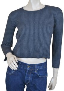 Wes Gordon Ribbed Wool Blend Sweater