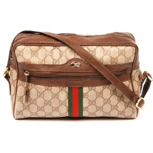 Gucci Ophidia Vintage Canvas Cross Body Bag