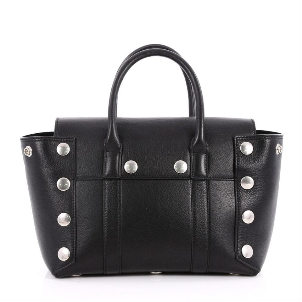 265d231010b2 Mulberry Bayswater with Studded Detail Small Black Leather Satchel ...