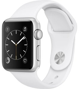Apple Apple Watch Series 1 38mm Smartwatch (Silver Aluminum Case / White