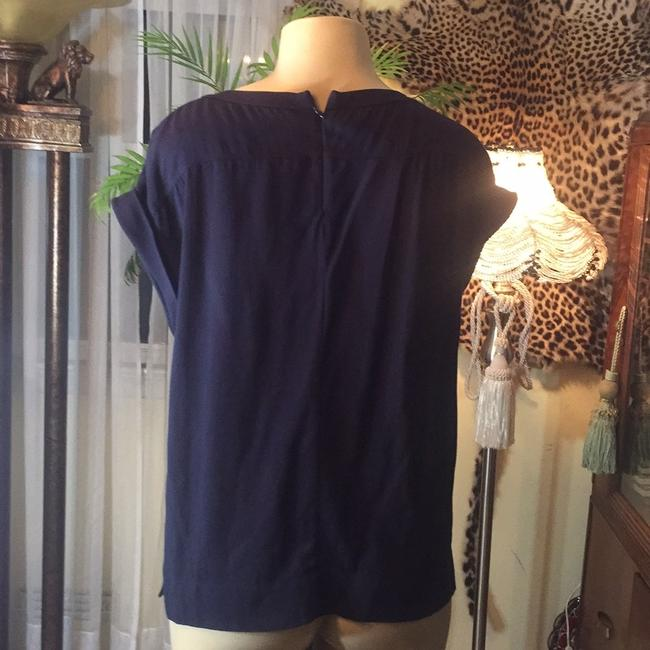Theory Top navy Image 2