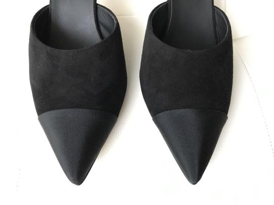 Chanel Black Mules Image 5